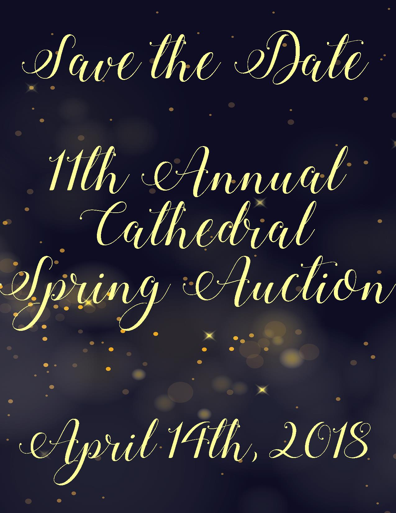 Save the Date - NEW - Auction 2018