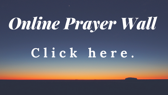 Online Prayer Wall