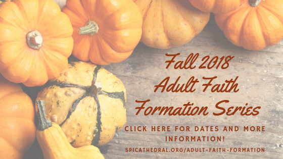 Fall 2018 Adult Faith Formation Series