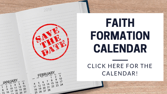 Faith Formation Calendar
