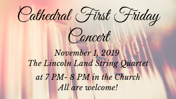 Nov. Cathedral First Friday Concert