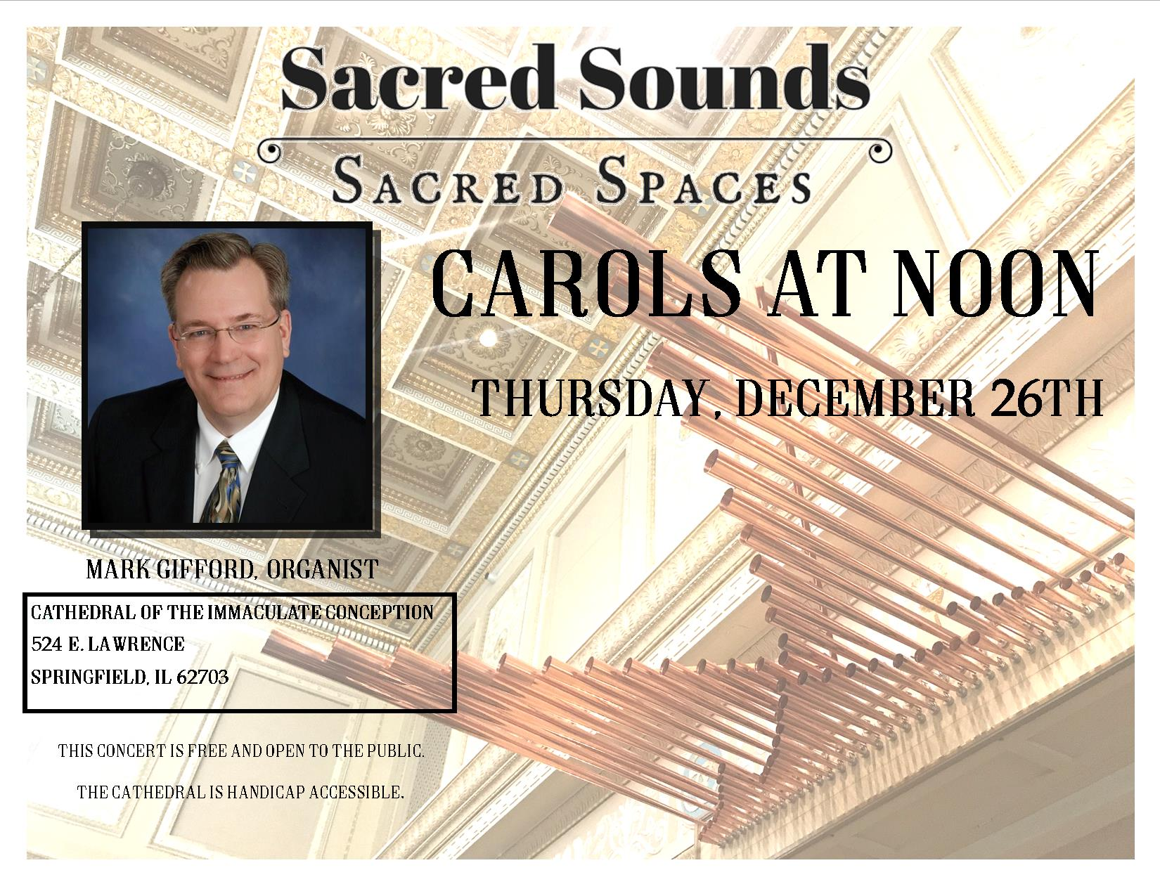 2019 Carols at Noon Ad- Thursday