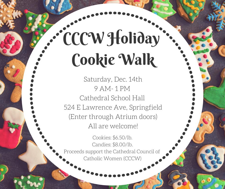 Cookie Walk Flyer #1