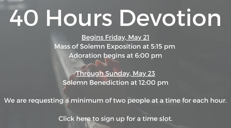 40-Hours-Devotion