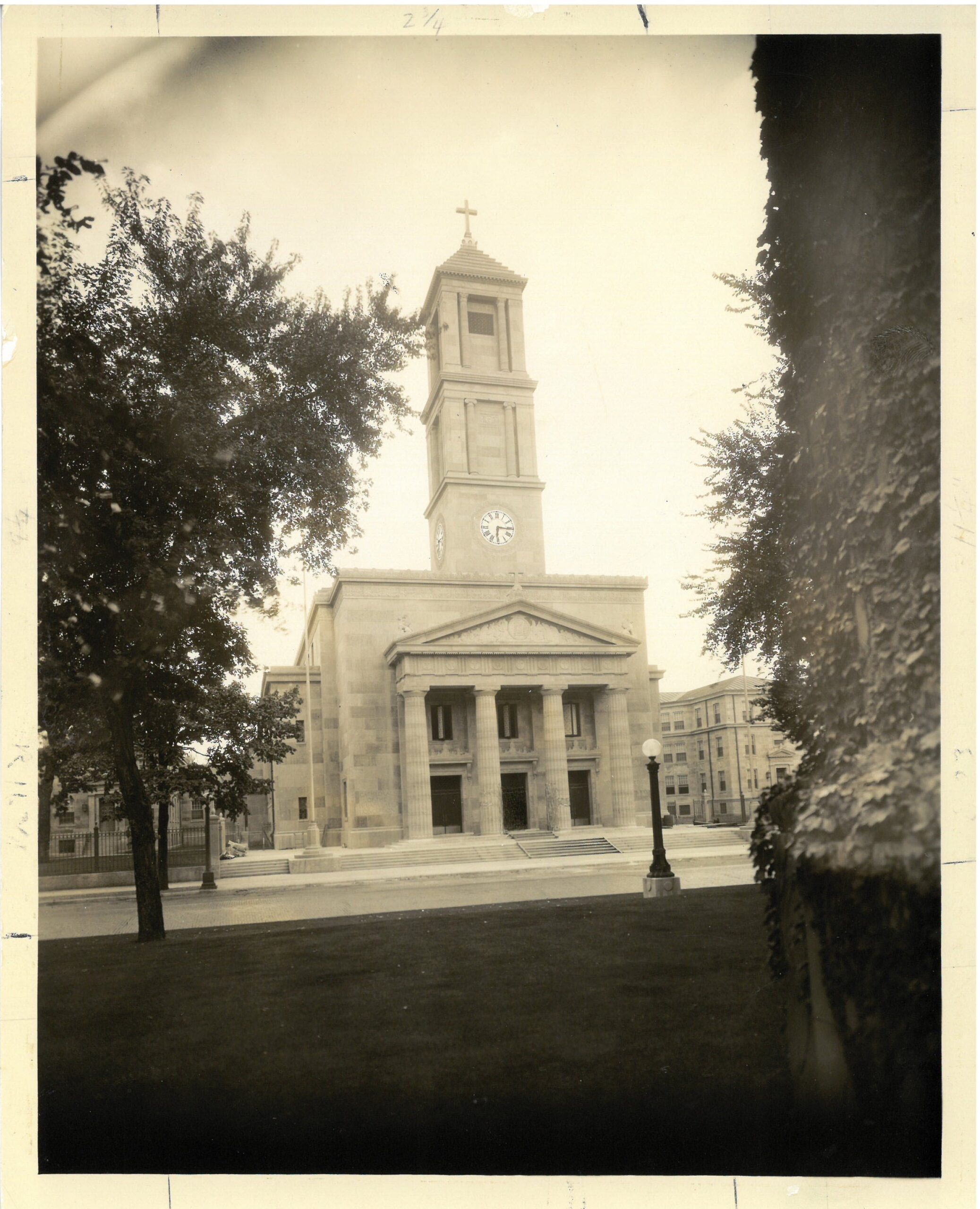 History - Photographs - Exterior, Cathedral, 1928